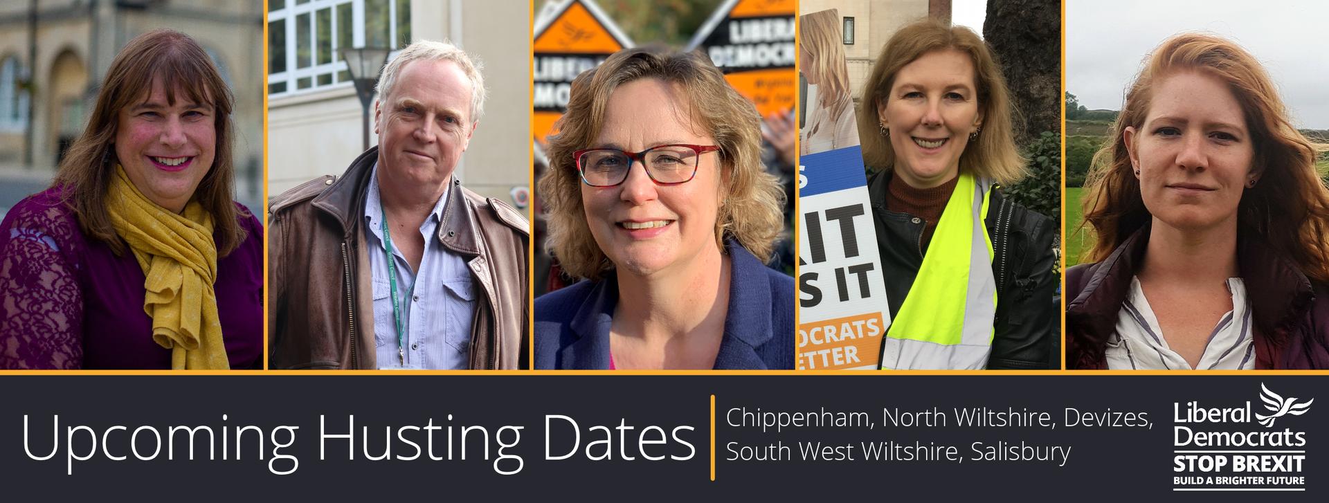 Upcoming Hustings (Wiltshire Liberal Democrats)