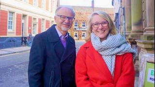 Swindon PPCs Stan Pajak and Katie Critchlow