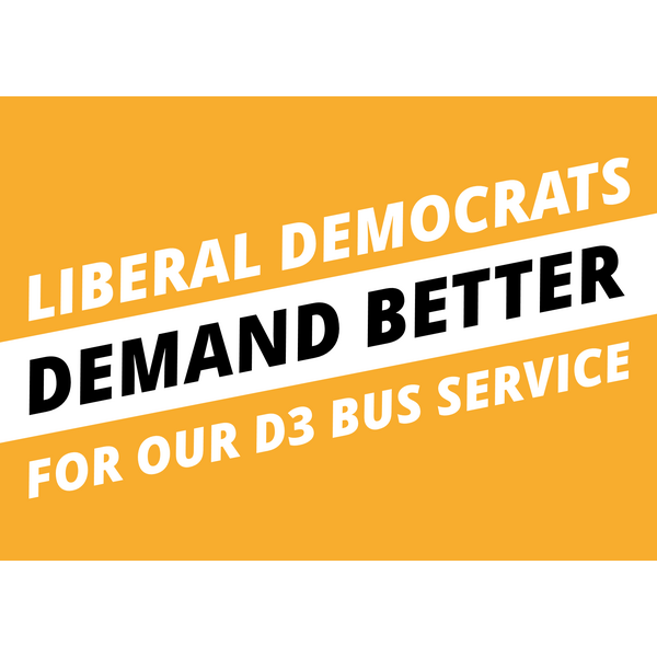 Save our D3 Bus (Josh Charles)