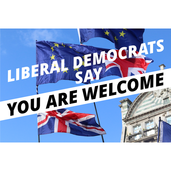 You Are Welcome Here (Wiltshire Liberal Democrats)