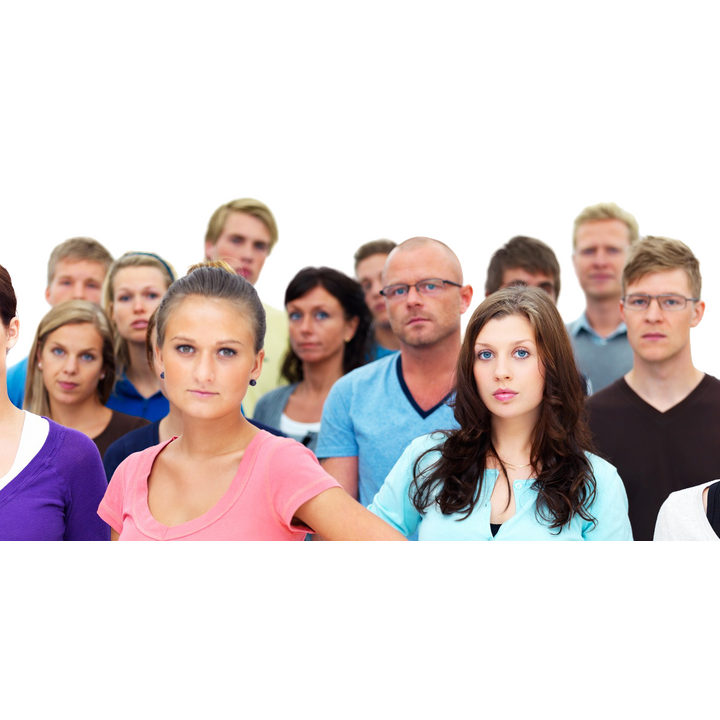 Young people heads